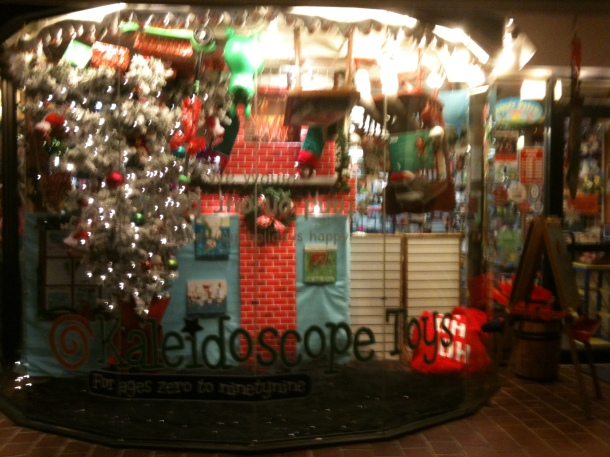 Kaleidoscope Toy's Upside Down Window