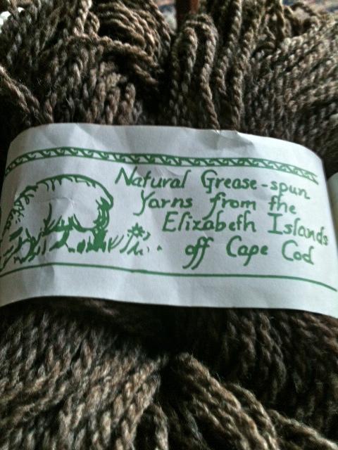Yarn from happy sheep